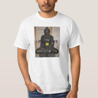 LIVE ITS FREE.. BUDA T-Shirt MENS