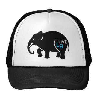 Live Large Graphic Cap
