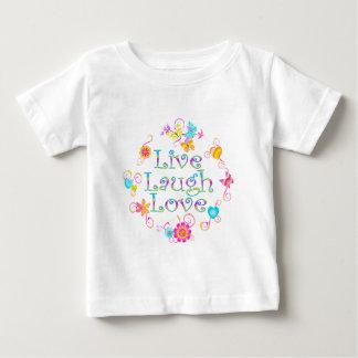 Live Laugh Love Baby T-Shirt