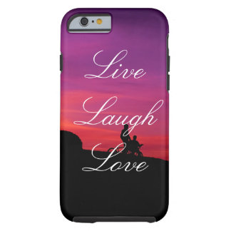 Live Laugh Love Brilliant Sunset Phone Case