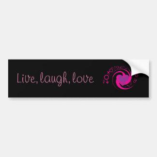 Live,Laugh,Love Bumper Sticker
