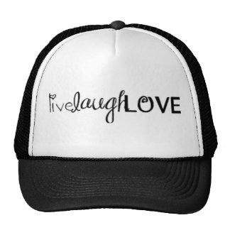 live laugh & LOVE Cap
