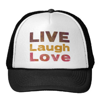 Live Laugh Love Cap