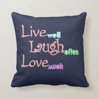 Live - Laugh - Love Cushion