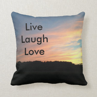 Live Laugh Love Cushion