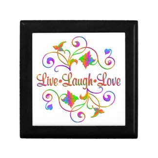 Live Laugh Love Flourish Gift Box