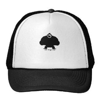 Live Laugh Love Gorilla Trucker Hats