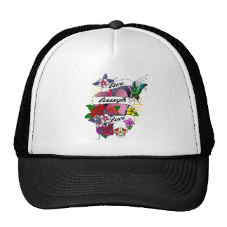 Live Laugh Love Hats