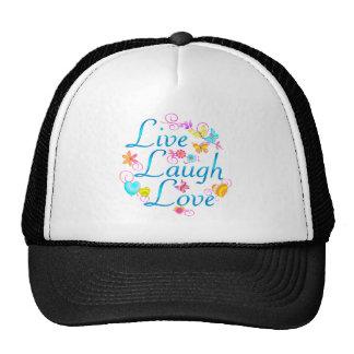 Live Laugh Love Hat