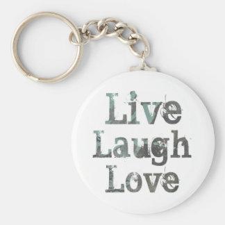 Live, Laugh, Love Key Chain