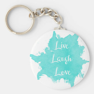 Live Laugh Love Key Ring