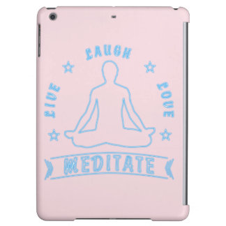 Live Laugh Love Meditate Male Text (neon)