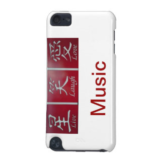 LIve Laugh Love Music iPod Touch 5G Case