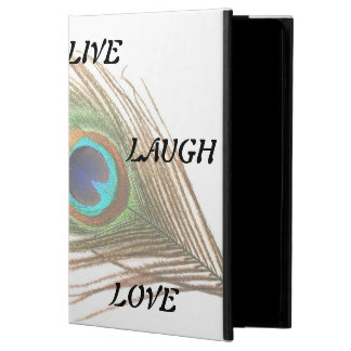 Live Laugh Love Peacock Feather