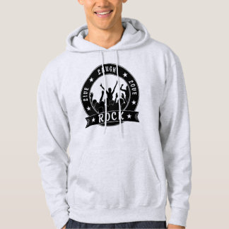 Live Laugh Love ROCK (blk) Hoodie