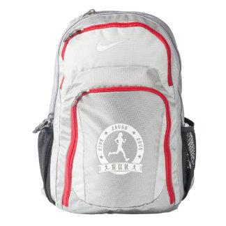 Live Laugh Love RUN female circle (wht) Backpack