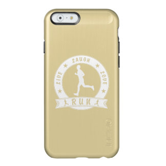 Live Laugh Love RUN male circle (wht) Incipio Feather® Shine iPhone 6 Case