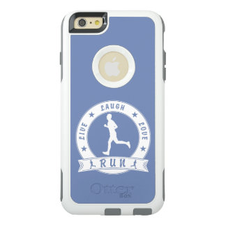 Live Laugh Love RUN male circle (wht) OtterBox iPhone 6/6s Plus Case