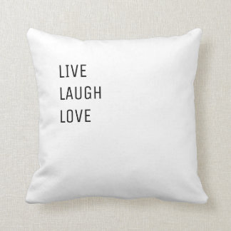 Live Laugh Love | Simple Modern Two in One Cushion