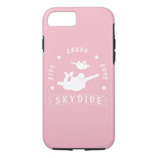 Live Laugh Love Skydive. iPhone 8/7 Case