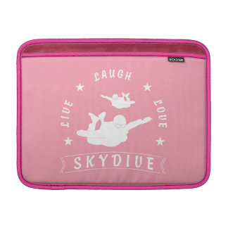 Live Laugh Love Skydive. MacBook Sleeve