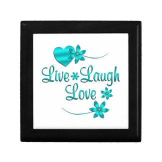 Live Laugh Love Small Square Gift Box