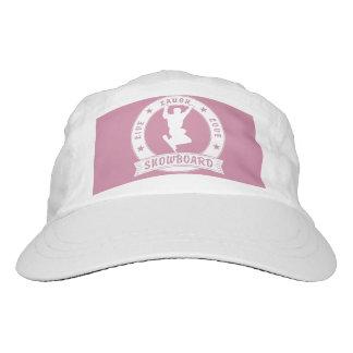 Live Laugh Love SNOWBOARD 2 Circle Hat