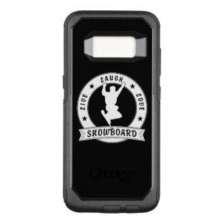Live Laugh Love SNOWBOARD 2 Circle OtterBox Commuter Samsung Galaxy S8 Case