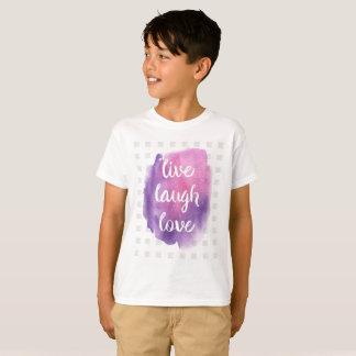 LIVE LAUGH LOVE T SHIRT
