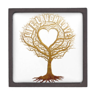 Live Laugh Love - Tree of Life Premium Keepsake Boxes