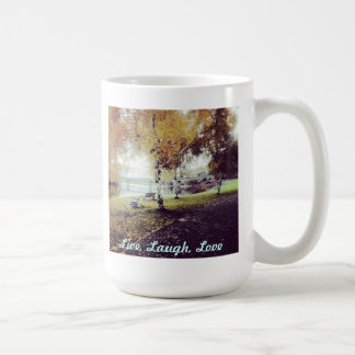 Live, Laugh, Love Walk in the park mug
