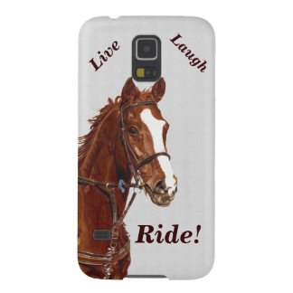Live! Laugh! Ride Horse Galaxy S5 Covers