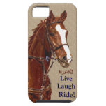 Live Laugh Ride! Horse Case For The iPhone 5