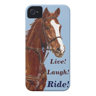 Live! Laugh! Ride Horse Case-Mate iPhone 4 Cases