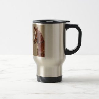 Live! Laugh! Ride! Horse Stainless Steel Travel Mug