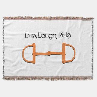 Live, Laugh, Ride, Throw