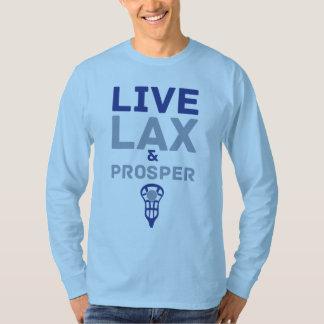 Live Lax & Prosper Lacrosse T-Shirt