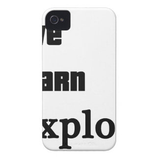 Live Learn Explore iPhone 4 Cases