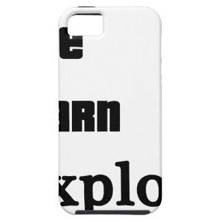 Live Learn Explore Tough iPhone 5 Case