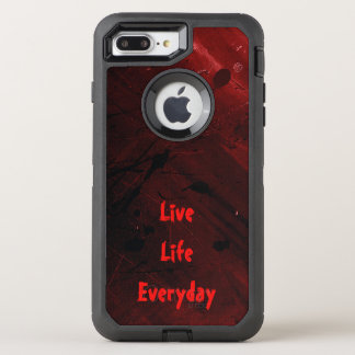 Live Life Everyday OtterBox Defender iPhone 8 Plus/7 Plus Case