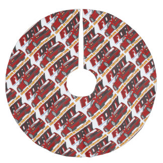 LIVE_LIFE_IN_THE_FAST_LANE: forty Brushed Polyester Tree Skirt