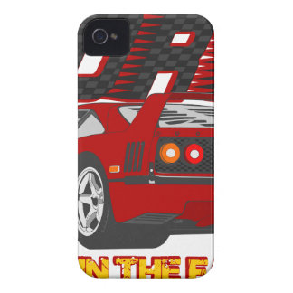 LIVE_LIFE_IN_THE_FAST_LANE: forty iPhone 4 Case