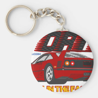 LIVE_LIFE_IN_THE_FAST_LANE: forty Key Ring