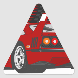 LIVE_LIFE_IN_THE_FAST_LANE: forty Triangle Sticker