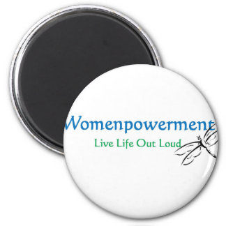 Live Life Out Loud 6 Cm Round Magnet
