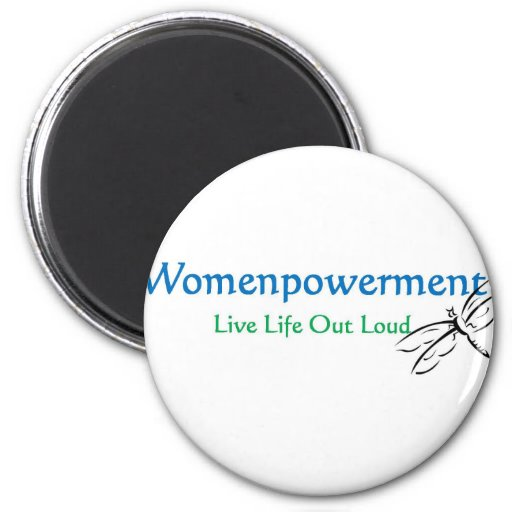 Live Life Out Loud Refrigerator Magnet