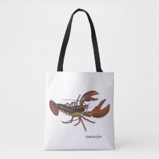 live lobster tote bag