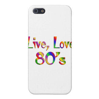 Live Love 80s Cover For iPhone 5