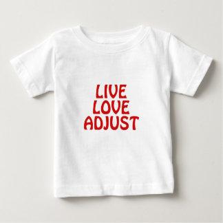 Live Love Adjust Baby T-Shirt