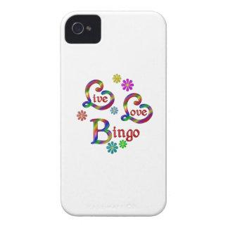 Live Love Bingo iPhone 4 Case-Mate Case
